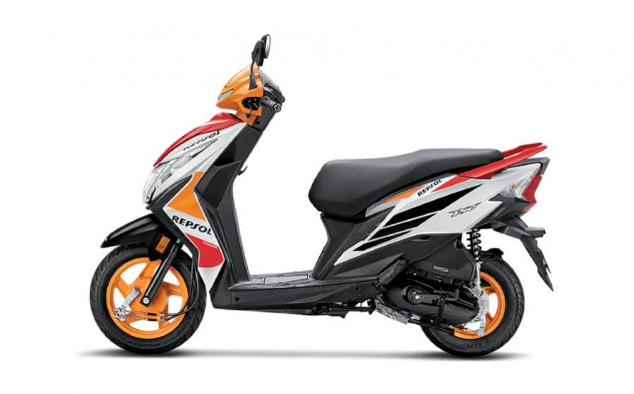 Honda dio rapsol bike
